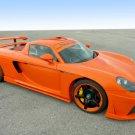 "Porsche Koenigseder Carrera GT Car Poster Print on 10 mil Archival Satin Paper 16"" x 12"""