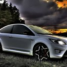 "Ford Focus ST Car Poster Print on 10 mil Archival Satin Paper 16"" x 12"""""