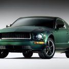 "Ford Mustang Bullitt Car Poster Print on 10 mil Archival Satin Paper 16"" x 12"""""