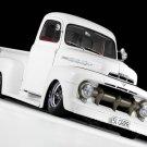 "Ford (1951) Custom Truck Poster Print on 10 mil Archival Satin Paper 16"" x 12"""