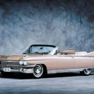 "Cadillac Eldorado (1959) Convertible Car Poster Print on 10 mil Archival Satin Paper 16"" x 12"""