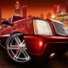 """Cadillac Escalade Car Poster Print on 10 mil Archival Satin Paper 16"""" x 12"""""""