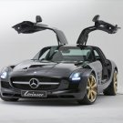 "Mercedes-Benz Lorinser SLS RSK8 Wheel Car Poster Print on 10 mil Archival Satin Paper 16"" x 12"""