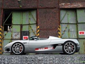 "Koenigsegg Edo CCR Evolution Car Poster Print on 10 mil Archival Satin Paper 16"" x 12"""