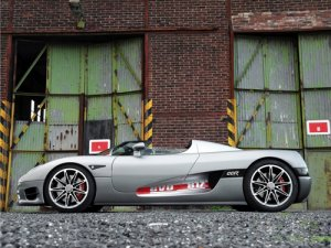 "Koenigsegg Edo CCR Evolution Car Poster Print on 10 mil Archival Satin Paper 20"" x 15"""