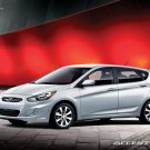 "Hyundai Accent Concept Car Poster Print on 10 mil Archival Satin Paper 16"" x 12"""