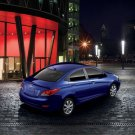 "Hyundai Accent Concept Car Poster Print on 10 mil Archival Satin Paper 20"" x 15"""