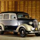 "Chevrolet Suburban (1938) Custom Truck Poster Print on 10 mil Archival Satin Paper 16"" x 12"""