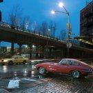 """Jaguar E-Type Car Poster Print on 10 mil Archival Satin Paper 26"""" x 16"""""""
