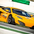 "McLaren MP4-12C GT3 Car Poster Print on 10 mil Archival Satin Paper 16"" x 12"""