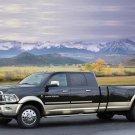 "Dodge Ram Long-Hauler Concept Truck Poster Prin ton 10 mil Archival Satin Paper 16"" x 12"""