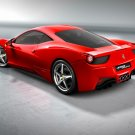 "Ferrari 458 Italia Car Poster Print on 10 mil Archival Satin Paper 36"" x 24"""