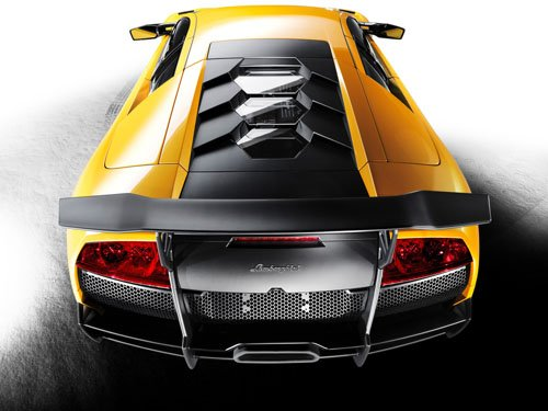 "Lamborghini Murcielago LP 670-4 SuperVeloce Car Poster Print on 10 mil Archival Satin Paper 24""x18"""
