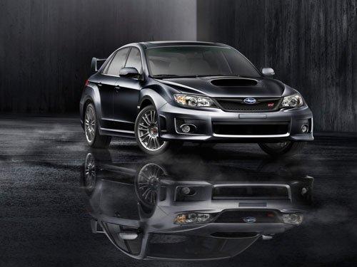 "Subaru Impreza WRX STI 2011 Car Poster Print on 10 mil Archival Satin Paper 24"" x 18"""