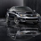 "Subaru Impreza WRX STI 2011 Car Poster Print on 10 mil Archival Satin Paper 36"" x 24"""