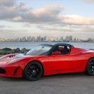 "Tesla Roadster 2.5 Car Poster Print on 10 mil Archival Satin Paper 36"" x 24'"