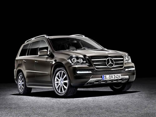 """Mercedes Benz GL-Class Grand Edition Car Poster Print on 10 mil Archival Satin Paper 20"""" x 15"""""""