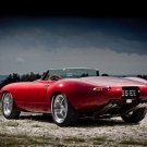 "Jaguar Eagle E-Type Speedster Car Poster Print on 10 mil Archival Satin Paper 16"" x 12"""