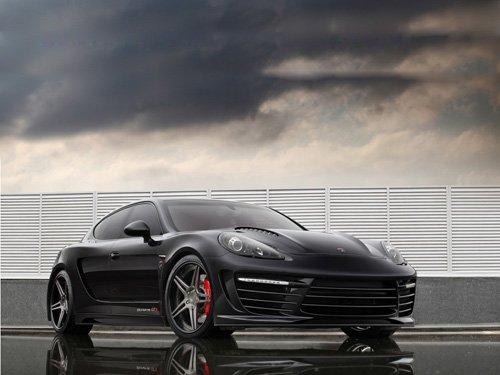 "Porsche TopCar Panamera Stingray GTR Car Poster Print on 10 mil Archival Satin Paper 16"" x 12"""