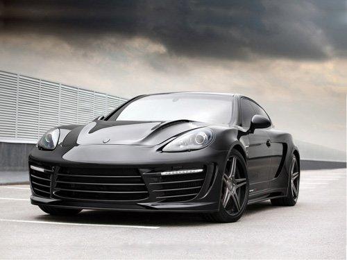 "Porsche TopCar Panamera Stingray GTR Car Poster Print on 10 mil Archival Satin Paper 20"" x 15"""