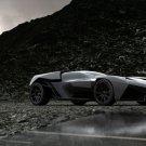 "Lamborghini Ankonian Concept Design Car Poster Print on 10 mil Archival Satin Paper 16"" x 12"""