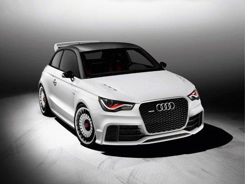 "Audi A1 Clubsport Quattro Concept Car Poster Print on 10 mil Archival Satin Paper 16"" x 12"""