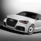 "Audi A1 Clubsport Quattro Concept Car Poster Print on 10 mil Archival Satin Paper 24"" x 18"""