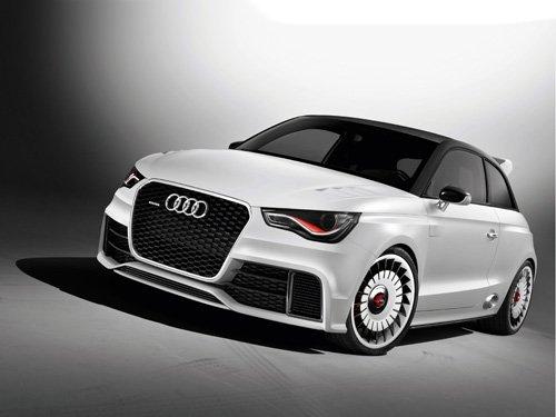 "Audi A1 Clubsport Quattro Concept Car Poster Print on 10 mil Archival Satin Paper 36"" x 24"""