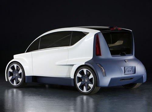 "Honda P-NUT Concept Car Poster Print on 10 mil Archival Satin Paper 24"" x 18"""