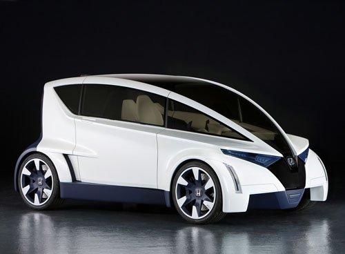 "Honda P-NUT Concept Car Poster Print on 10 mil Archival Satin Paper 36"" x 24"""