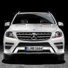 "Mercedes-Benz M-Class (2012) Car Poster Print on 10 mil Archival Satin Paper 16"" x 12"""