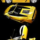 "Ferruccio Spyder Concept Car Poster Print on 10 mil Archival Satin Paper 24"" x 34"""
