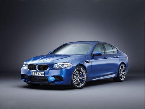 "BMW M5 2012 Car Poster Print on 10 mil Archival Satin Paper 24"" x 18"""