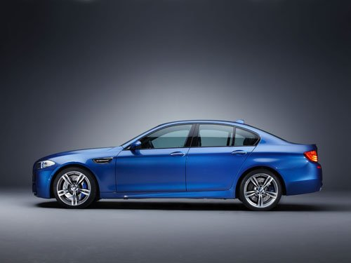 "BMW M5 2012 Car Poster Print on 10 mil Archival Satin Paper 16"" x 12"""