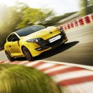 "Renault Megane RS Trophy Car Poster Print on 10 mil Archival Satin Paper 16"" x 12"""