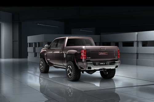 "GMC Sierra All Terrain HD Concept Car Poster Print on 10 mil Archival Satin Paper 30"" x 20"""