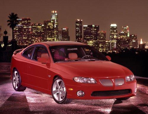 "Pontiac GTO 2004 Car Poster Print on 10 mil Archival Satin Paper 16"" x 12"""