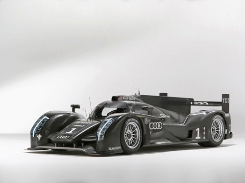 "Audi R18 Race Car Poster Print on 10 mil Archival Satin Paper 36"" x 24"""