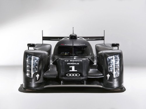 "Audi R18 Race Car Poster Print on 10 mil Archival Satin Paper 32"" x 24"""