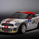 "Mini John Cooper Works Coupe Endurance Car Poster Print on 10 mil Archival Satin Paper 20"" x 15"""