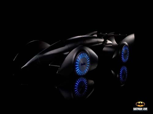 "Gordon Murray Design Batmobile Concept Car Poster Print on 10 mil Archival Satin Paper 16"" x 12"""
