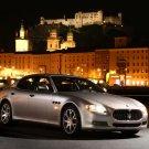 "Maserati Quattroporte 2008 Car Poster Print on 10 mil Archival Satin Paper 24"" x 18"""