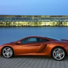 "McLaren MP4-12C Car Poster Print on 10 mil Archival Satin Paper 36"" x 24"""