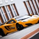 "McLaren MP4-12C GT3 Coupe Car Poster Print on 10 mil Archival Satin Paper 16"" x 12"""