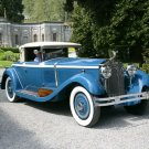 "Isotta-Fraschini (1928) 8A Car Poster Print on 10 mil Archival Satin Paper 24"" x 16"""