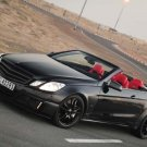 "Brabus Mercedes E V12 Cabriolet Car Poster Print on 10 mil Archival Satin Paper 16"" x 12"""