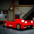 "Saker Classic GT Car Poster Print on 10 mil Archival Satin Paper 24"" x 16"""