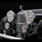 "Alvis Roadster 4.3 Litre Car Poster Print on 10 mil Archival Satin Paper 16"" x 12"""