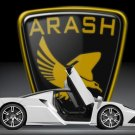 "Arash AF10 Concept Car Poster Print on 10 mil Archival Satin Paper 24"" x 20"""