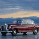 """Mercedes-Benz Type 300 (1951) Car Poster Print on 10 mil Archival Satin Paper 16"""" x 12"""""""